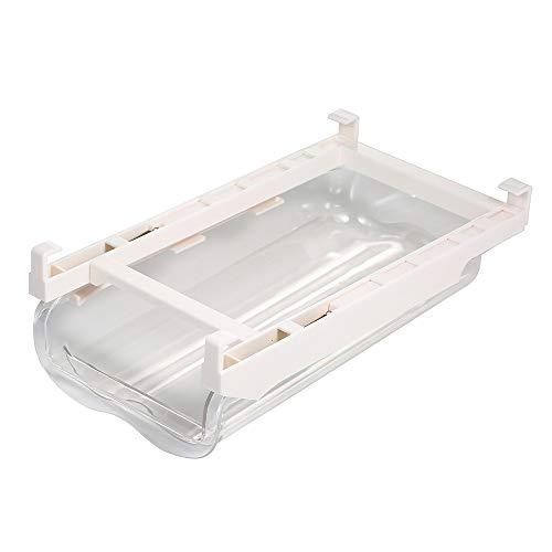 Adaskala Soporte para Huevos de Nevera, cajón Transparente para Huevos, Organizador de Almacenamiento, contenedor extraíble para Nevera