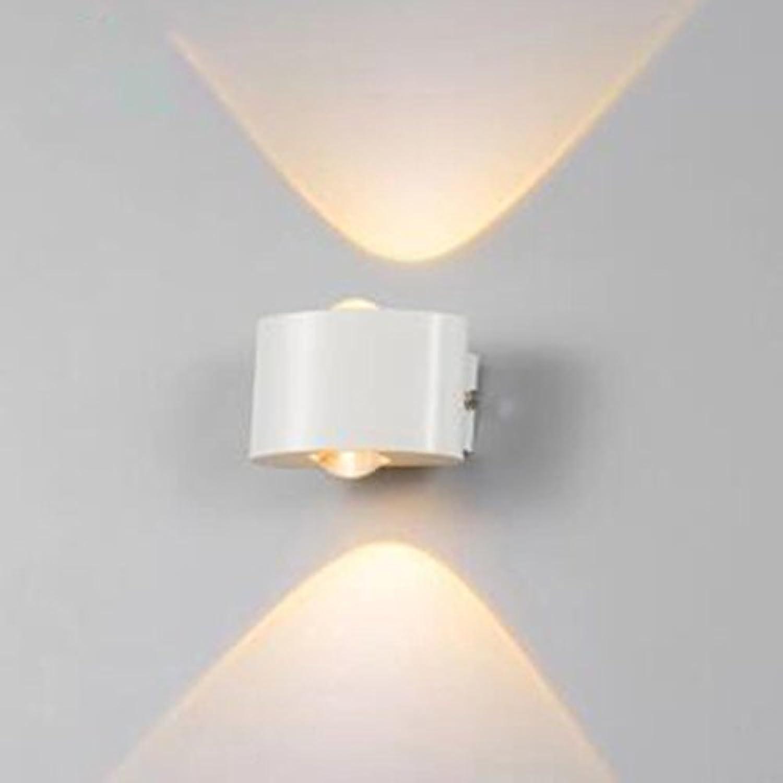 T-ZBDZ Im Freien wasserdichte Wandlampe Nachttischlampe Balkonwand Treppenlicht moderne Kunst Schlafzimmer Wandlampe, D
