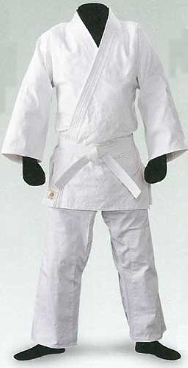 情報ジャケットアプトLION 授業用柔道衣 色:ホワイト、白帯付き 2号 (上下+帯の3点セット)