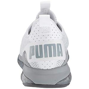 PUMA Men's Cell Descend Sneaker, White-Quarry-Iron gate, 11 M US