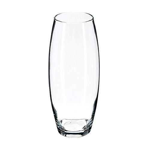 Flora & Co Vase BOMBÉ Verre Transparent 26CM