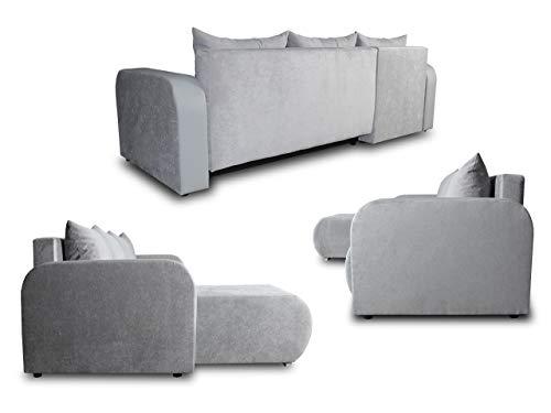 Ecksofa Couch –  günstig  Rino  Schlaffunktion Bild 4*