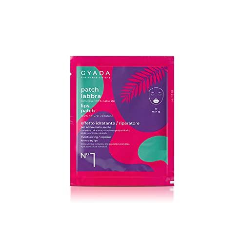 Gyada Cosmetics PATCH LABBRA N. 1 IDRATANTE/RIPARATORE ● CERTIFICATO BIO ● MADE IN ITALY ● 5 ml