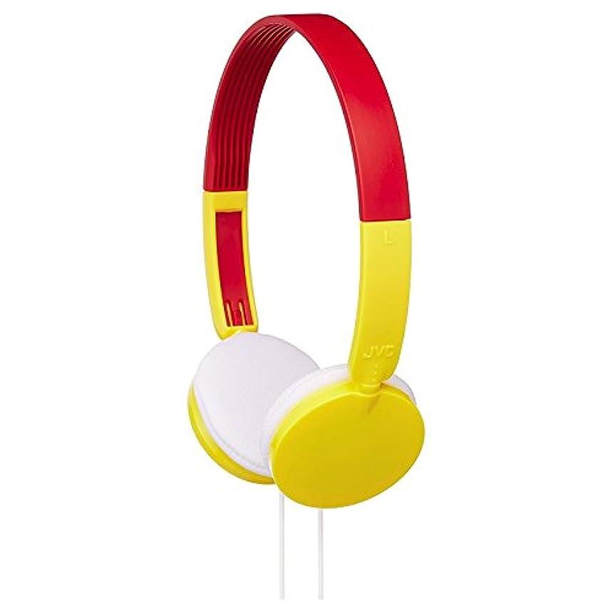 洞察力のある旅袋JVC HA-KD3-Y オーバーイヤーチャイルドヘッドフォン HAKD3 Yellow [並行輸入品]