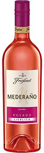 Mederaño Rosado lieblich Wein (0,75l) l Cuvée l lieblich l sommerlich leicht l gekühlt genießen
