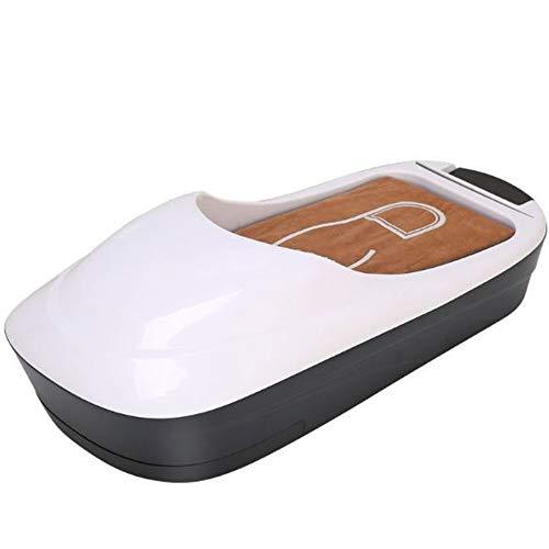 Kinshops Macchina Automatica USA e Getta per pellicole per Scarpe Dispenser Copriscarpe Automatico per Ufficio