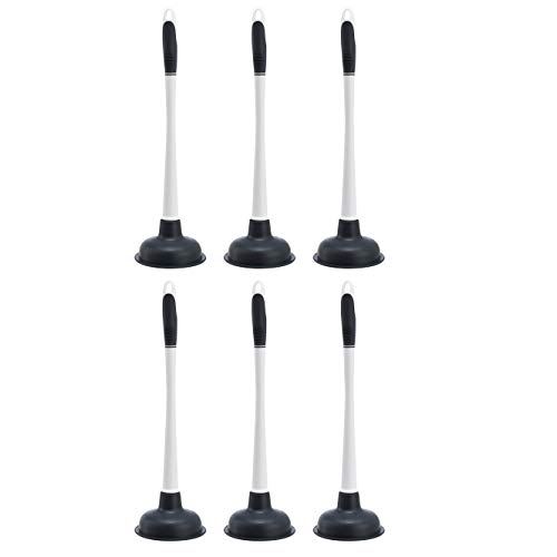 AmazonCommercial Plunger - 6-Pack
