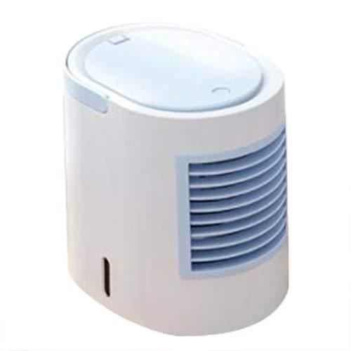 Luftreiniger Und Aroma Diffuser, Hydro-Chill Technologie Ventilator Luftbefeuchter,Mini Portable Air Conditioner Energy Efficient Conditioning Desktop Cooling Fan
