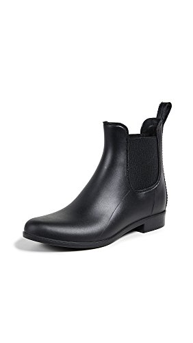 Sam Edelman Women's Tinsley Classic Rain Boot, Black Matte, 9 Medium US