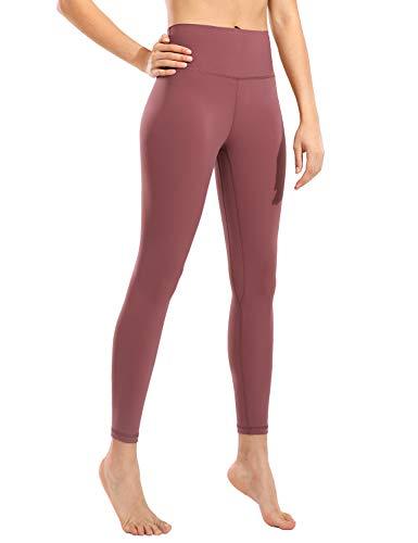 CRZ YOGA Donna Vita Alta Pantaloni Sportivi Leggings Fitness con Tasche-71cm