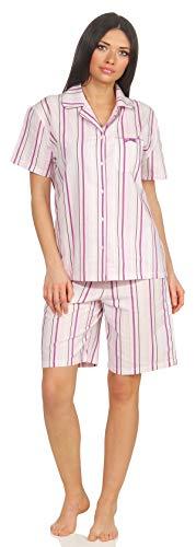Seidensticker Schlafanzug Pyjama kurz rosa (38 / M)