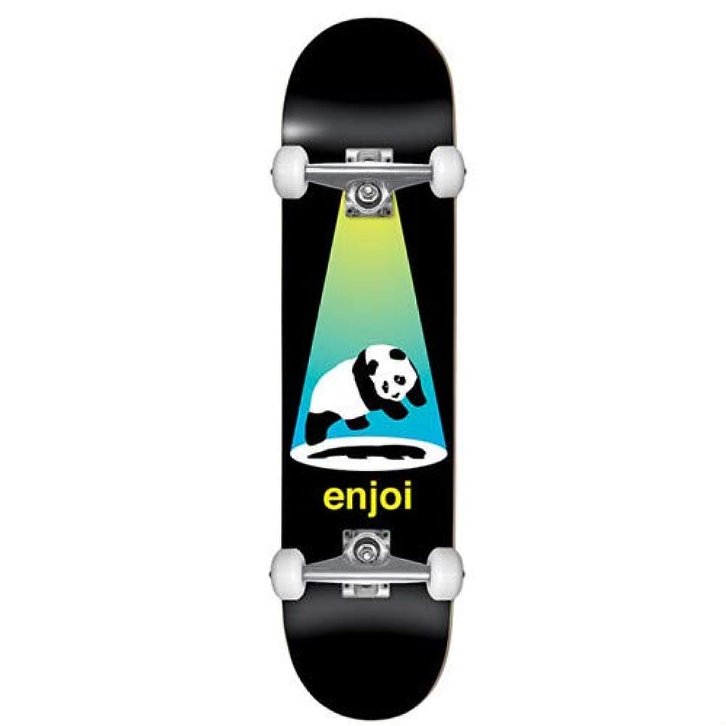 アサート三番ガイドスケートボード コンプリート ENJOI KIDS COMPLETE ABDUCTION YELLOW/BLUE 7.375