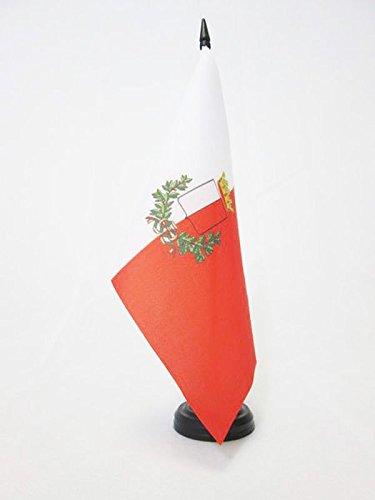 AZ FLAG Bandera de Mesa de Bari 21x14cm - BANDERINA de