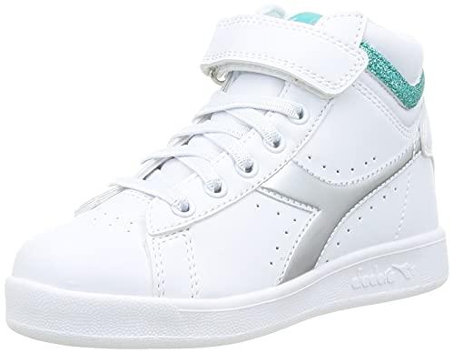 Diadora - Sneakers Game P High Girl PS per Bambino e Bambina (EU 31)