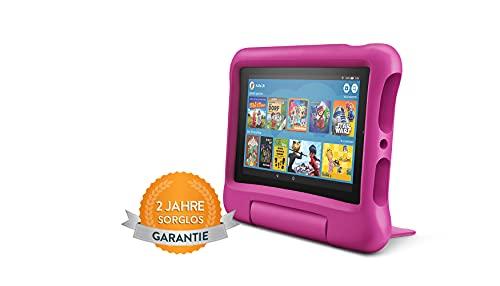 Fire7 Kids -Tablet | Ab dem Vorschulalter | 7-Zoll-Display, 16GB, pinke kindgerechte Hülle
