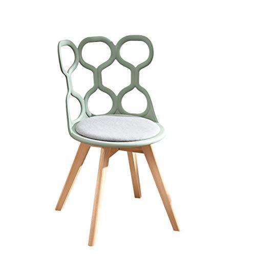 Schoenkruk ZI LING SHOP- Stoel Nordic Original Designer Eenvoudige Eetgelegenheden Ins Stijl Effen Hout Eettafel Stoelen Modern Cafe