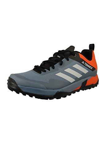 adidas Herren Terrex Trail Cross Sl Traillaufschuhe, Grau (Rawste/Greone/Orange Rawste/Greone/Orange), 43 1/3 EU