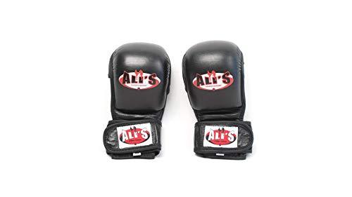 Ali's Fightgear MMA Handschuhe schwarz Größe L