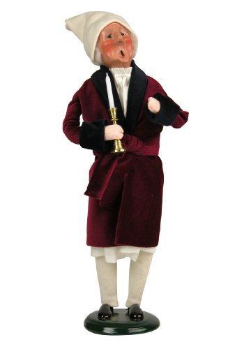 Byers' Choice Scrooge Caroler Figurine 201 from The A Christmas Carol Collection
