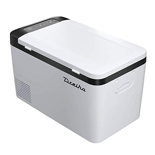 DREIHA CBX18 Kühlbox mit Kompressor 18 Liter ,Kompressor Kühlbox, Gefrierbox 12v 230v, 12V/24V, 110V/220V, Kühlung von -20 °C bis +20°C, Boot, LKW, Camping