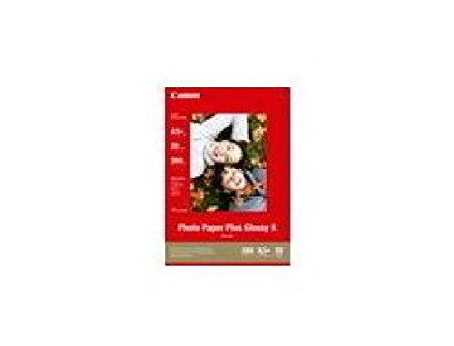 Canon Photo Paper Plus II PP-201 - Fotopapier, glänzend - 130 x 180 mm - 260 g/m2 - 20 Blatt - für i450 PIXMA iP2700, iX7000, MP210, MP470, MP520, MP PP201 CANON PHOTO PAPER 13x18 2311B018 20shts 275g/m2 glossy