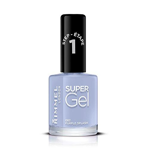 Rimmel London Super Gel van Kate Moss nagellak Duo Pack, Shade 12, Soul Session, huidskleur + gellak