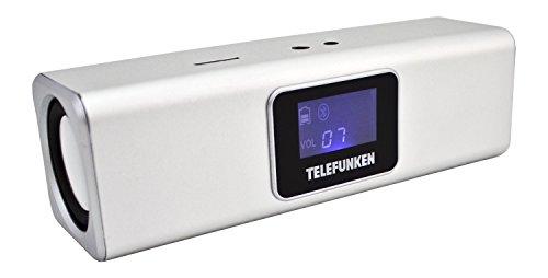 Telefunken BS1005M Bluetooth-Lautsprecher (Micro-SD, Aux-In, 4 Stunden Wiedergabe)