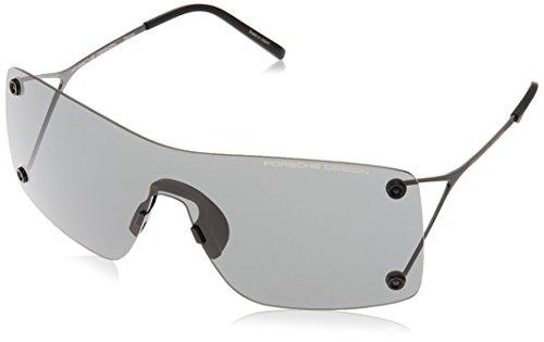 Porsche Design Sonnenbrille P8620 C 99 1 145 Rechteckig Sonnenbrille 99, Schwarz