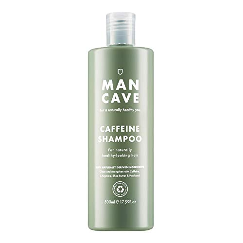 ManCave Caffeine Shampoo 500 ml - Naturally Encourages Healthy Hair Growth