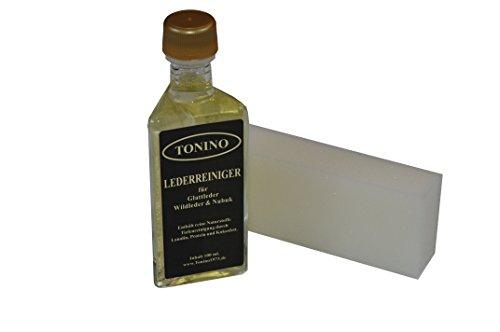 Tonino Lederreiniger für Glattleder, Wildleder und Nubuk 100 ml.