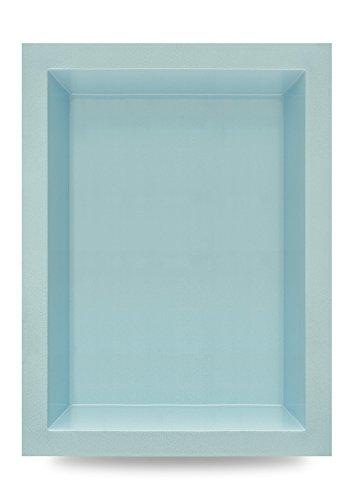 M+W Gartenflair GFK Teichbecken | Gartenteich | 1460 Liter | 240x180x52 cm (Blau)
