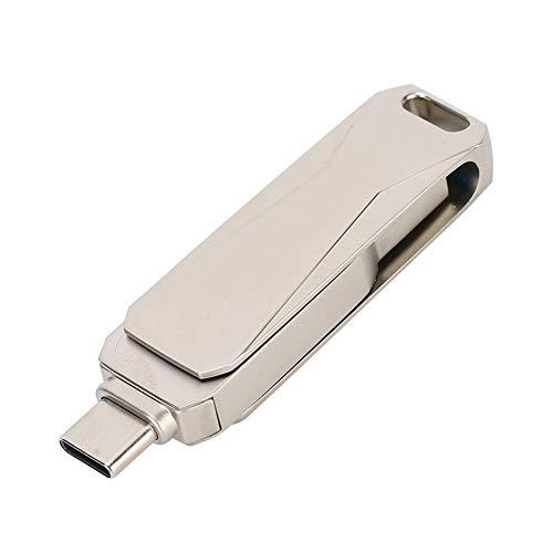 Mxtech Disque U Stable et Durable, Double Interface Micro USB, compatibilité Multi-périphérique, Lecteur Flash, pour PC,