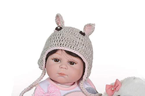 iCradle Bambole 20 Pollici Bambola di Simulazione Silicone Pieno Corpo Bambole in Vinile Vinile Reborn Bambole realistiche Bebe Reborn Baby Dolls Giocattoli per Bambini