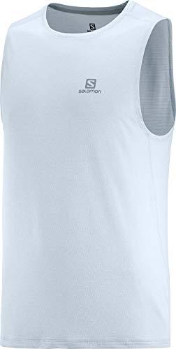 SALOMON Agile Camiseta De Tirantes Hombre Trail Running Sanderismo