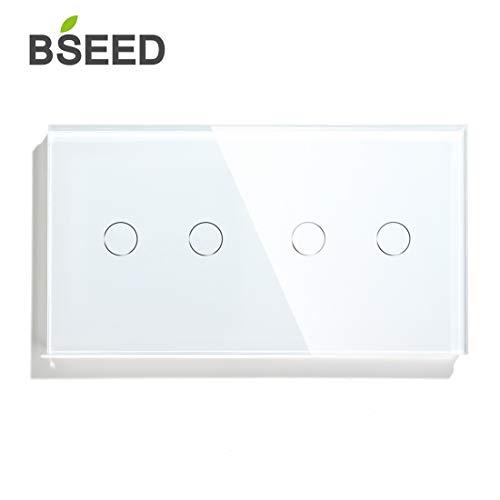BSEED Táctil Dimmer NON-WIFI Conmutador WIFI 2 Gang
