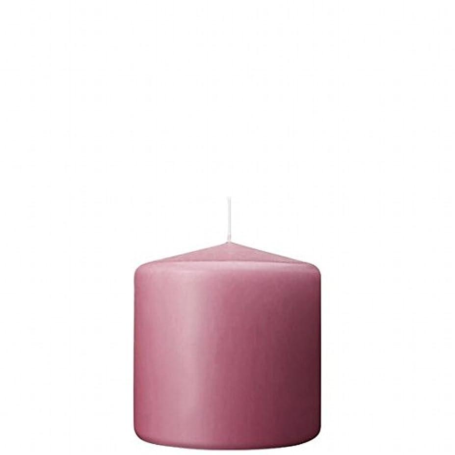 量ではい復活するカメヤマキャンドル(kameyama candle) 3×3ベルトップピラーキャンドル 「 ラベンダークリーム 」