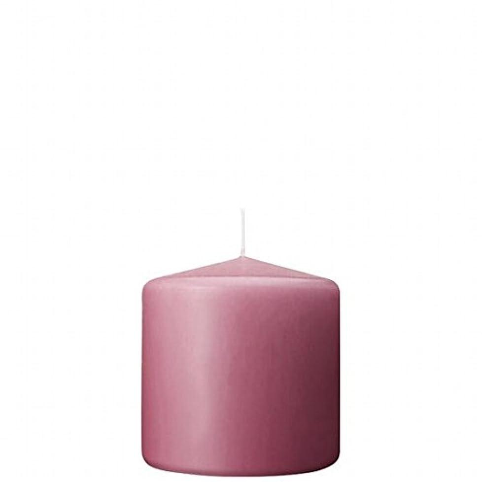 放射性刻む無カメヤマキャンドル(kameyama candle) 3×3ベルトップピラーキャンドル 「 ラベンダークリーム 」