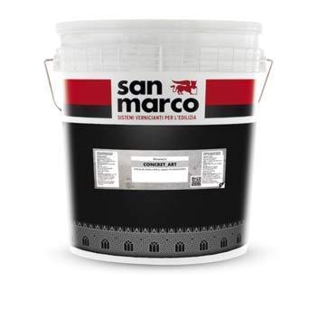San Marco Concrete Art Acrylic Plaster (1kg (1 Quart), C123)