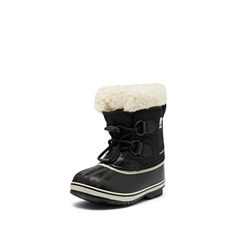 Merrell Kids' Unisex Ml-Snow Bank 2.0 Wtrpf Boot, Wheat/Black, 1 M US Little Kid