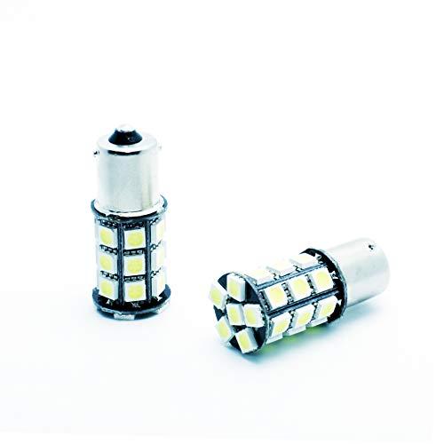 VINSTAR 2X Bombillas LED BA15S P21W Leon 3 MK3 CANBUS 6000K Premium