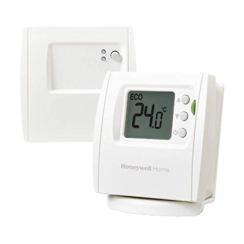 Honeywell THR842DBG - Termostato digital inalámbrico con función ECO