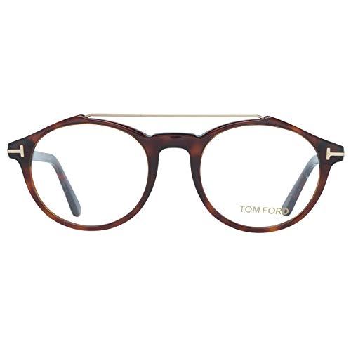 Tom Ford Optical Frame Ft5455 052 48 Montature, Marrone (Braun), Uomo