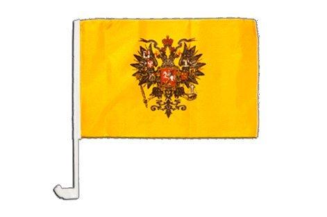 Drapeau de voiture Russie WWI Tsar Nicolas II - 30 x 40 cm