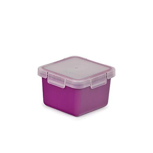 Valira Porta alimentos - Contenedor hermético de 0,4 L hecho en España, color morado
