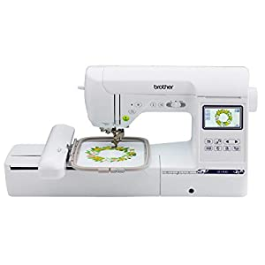 "Brother SE1900 Sewing and Embroidery Machine, 138 Designs, 240 Built-in Stitches, Computerized, 5"" x 7"" Hoop Area, 3.2"" LCD Touchscreen Display, 8 Included Feet"