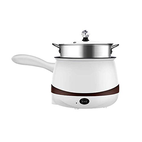 Elektro Hot Pot, Schnelle Nudeln Herd, Edelstahl Mini Pot Perfekt for Ramen, Ei, Pasta, Knödel, Suppe, Porridge lalay