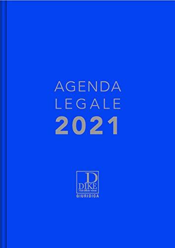 Agenda legale d'udienza 2021. Ediz. blu