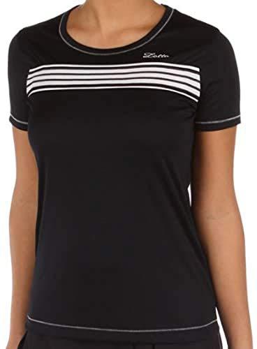 Lotto Sport T-Shirt Eryn Pl, Femmes, Deep Bleu Marine - XXL (44)