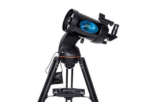 Celestron Astro Fi - Telescopio astronómico (125 mm de Apertura, 1250 de Distancia Focal, f/10 de relación Focal) Color Negro