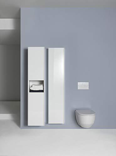 Laufen PRO Wand-Tiefspül-WC, spülrandlos, 360x530, weiß, Farbe: Weiß mit LCC
